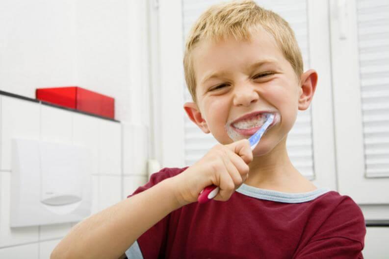 El cuidado de los dientes en los más pequeños